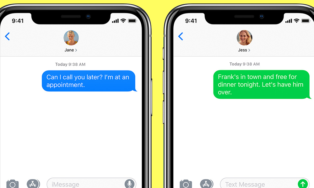 Why Apple Gives Android Users Green Bubbles in iMessage