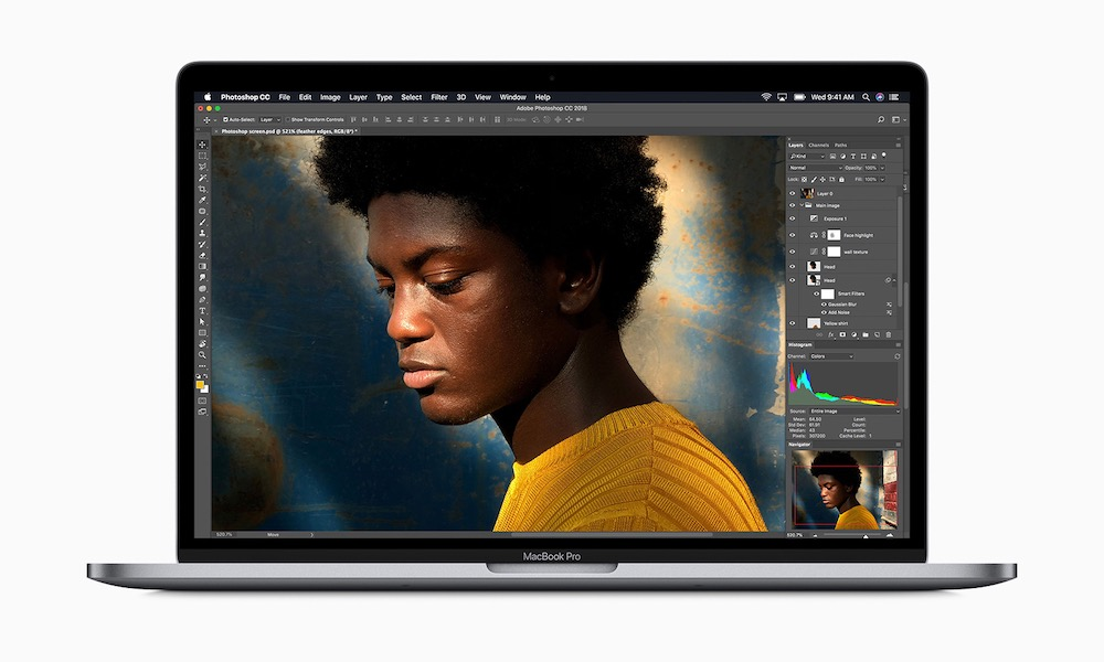 Apple Macbookpro 8 Core Macos Mojave Adobe Photoshop 05212019