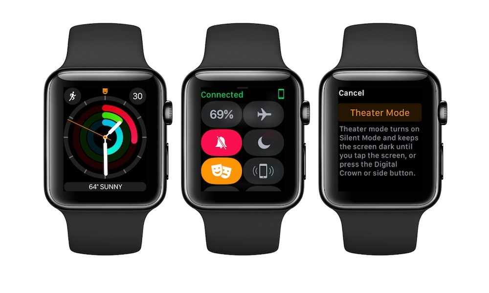 How to Use Theater Mode on Apple Watch