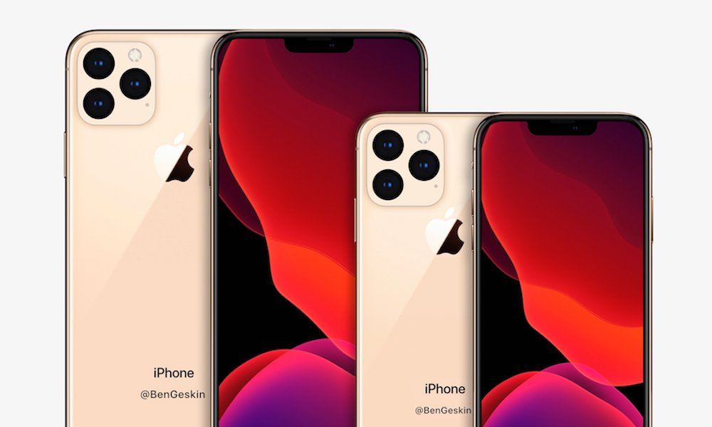 New Renders Show Just How Big 2020's Redesigned iPhones Will Be
