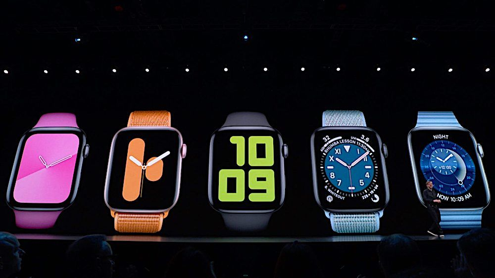 Older Apple Watches Will Get Stiffed on New Watch Faces in watchOS 6