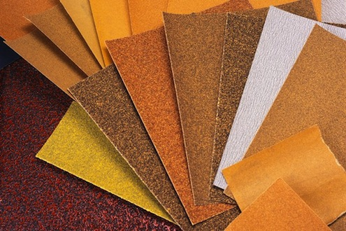 Types Of Sand Paper