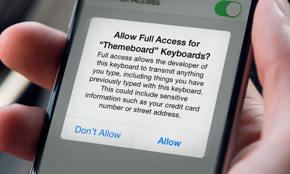 iOS 13 Bug Might Grant Third-Party Keyboards 'Full Access' without Permission