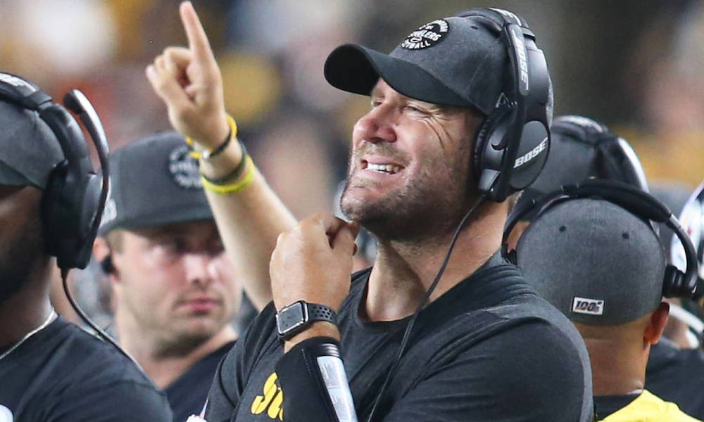 NFL Fines Star Steelers Quarterback $5,000 for Wearing an Apple Watch