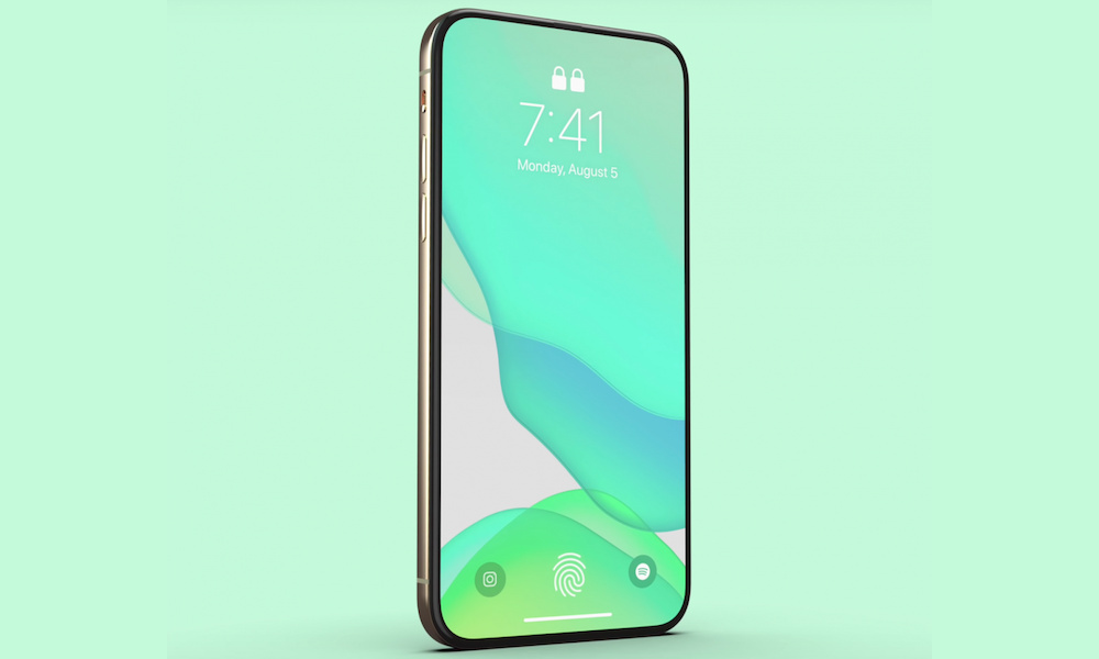 2020 iPhone with Ultrasonic Under-Display Touch ID Rumor Gains Traction