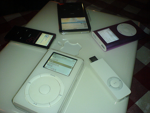 iPod gathering