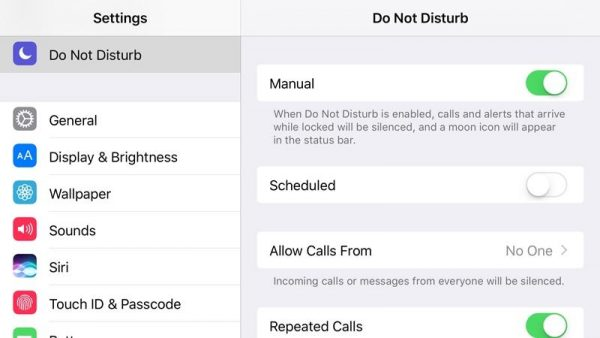 How to call someone who is using Do Not Disturb mode