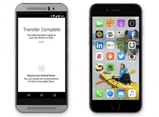 Apple's 'Move to iOS' app makes it easy to switch from Android