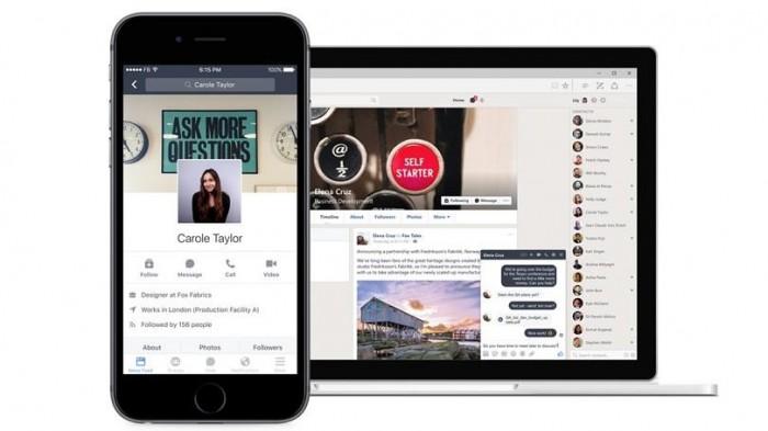 Facebook's Workplace Goes After Slack