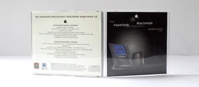 Video: The Twentieth Anniversary Macintosh Experience CD