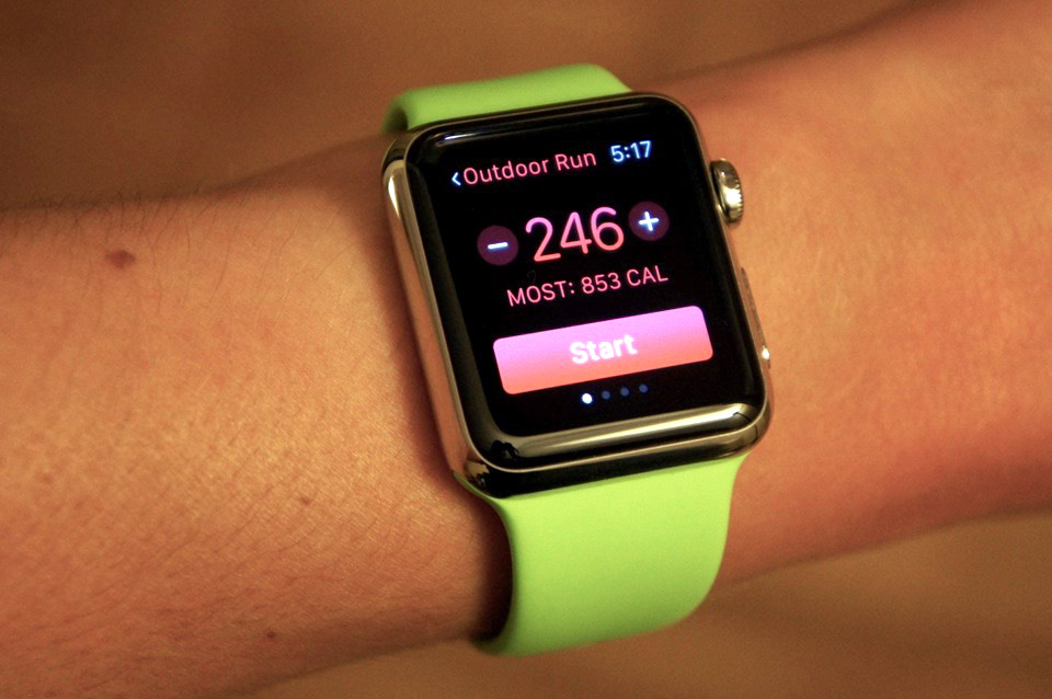 The Apple Watch as a fitness device (as written by a runner)