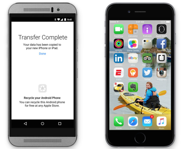 Apple makes an Android app — to help Android users switch to iOS
