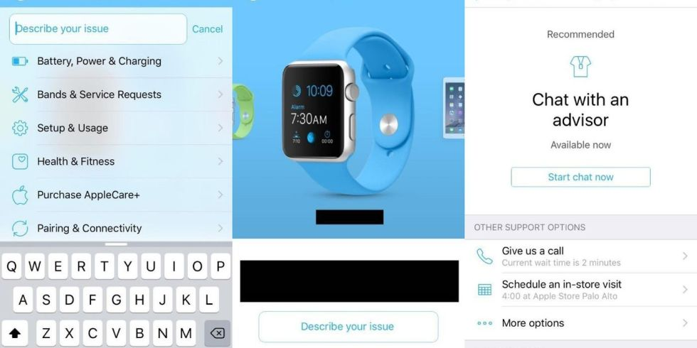 Leaked Apple support app could take the strain off Genius Bars
