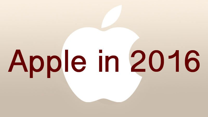 What to expect from Apple in 2016