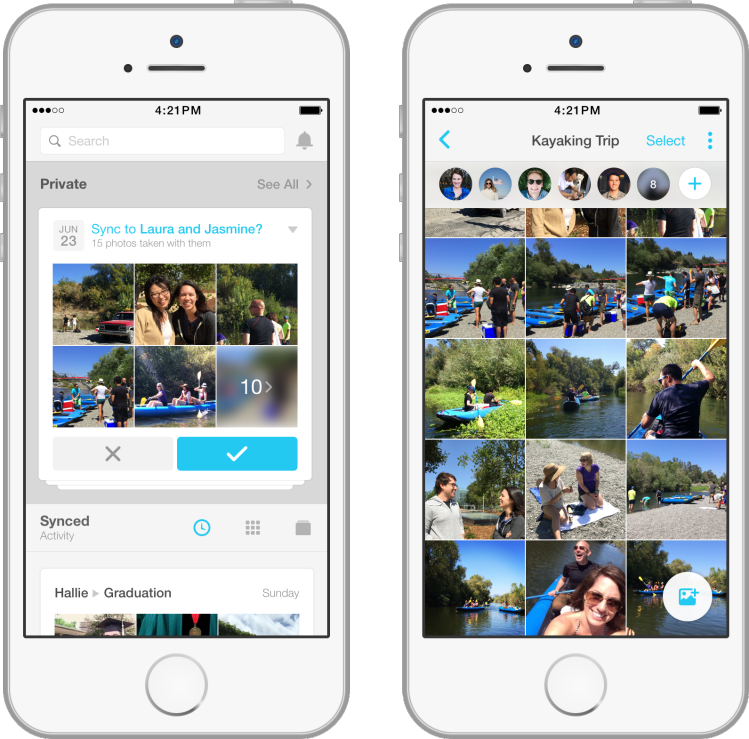 Facebook launches Moments, a new standalone app to share photos privately