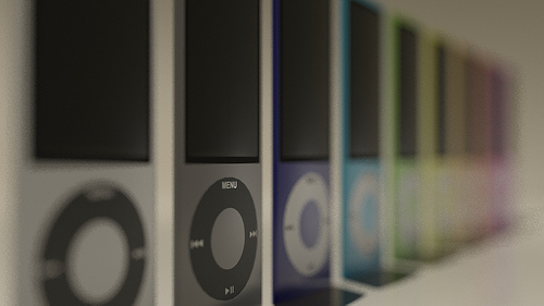 iPods Depth of Field