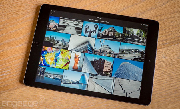 Copy and paste edits on multiple photos with Lightroom on iOS