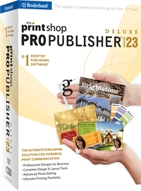 The Print Shop 23.1 Pro Publisher Deluxe