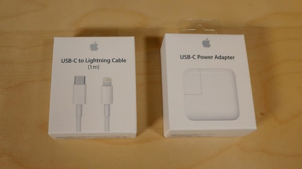 USB-C to Lightning Cable + 29W Power Adapter is what should have shipped with the 12.9″ iPad Pro