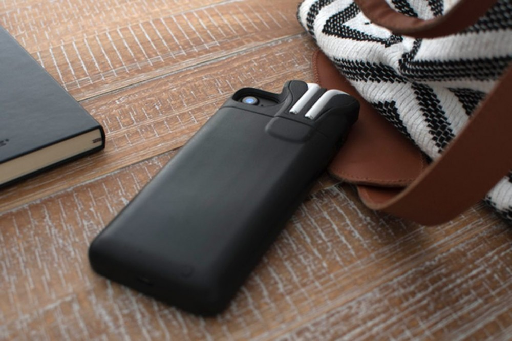 Pebble creator made an iPhone case that can store and charge AirPods