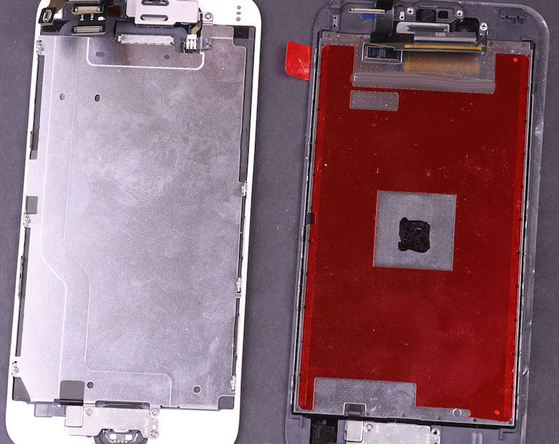 Mysterious new chip has been discovered on a leaked iPhone 6s display component