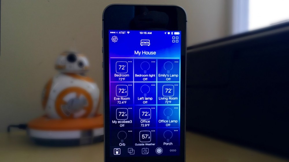 Hesperus is a free, easy-to-use and customizable HomeKit app for iPhone