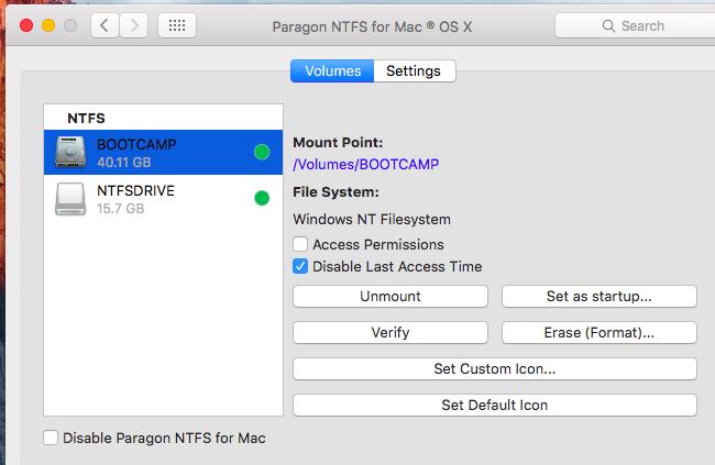 Write to NTFS Drives on a Mac