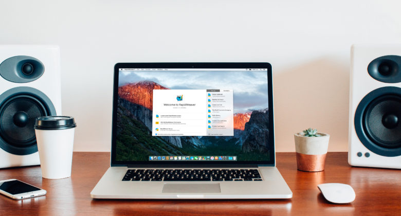 RapidWeaver 7 for Mac makes website building super simple