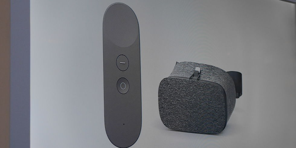 Google Daydream View just dropped as a seriously cool fabric VR headset