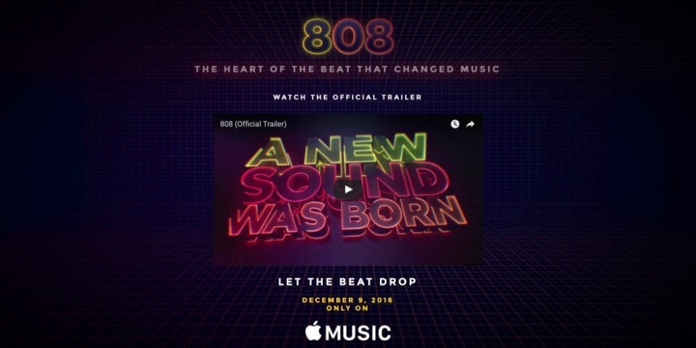 Apple's first original documentary '808: The Movie' now available for Apple Music subscribers
