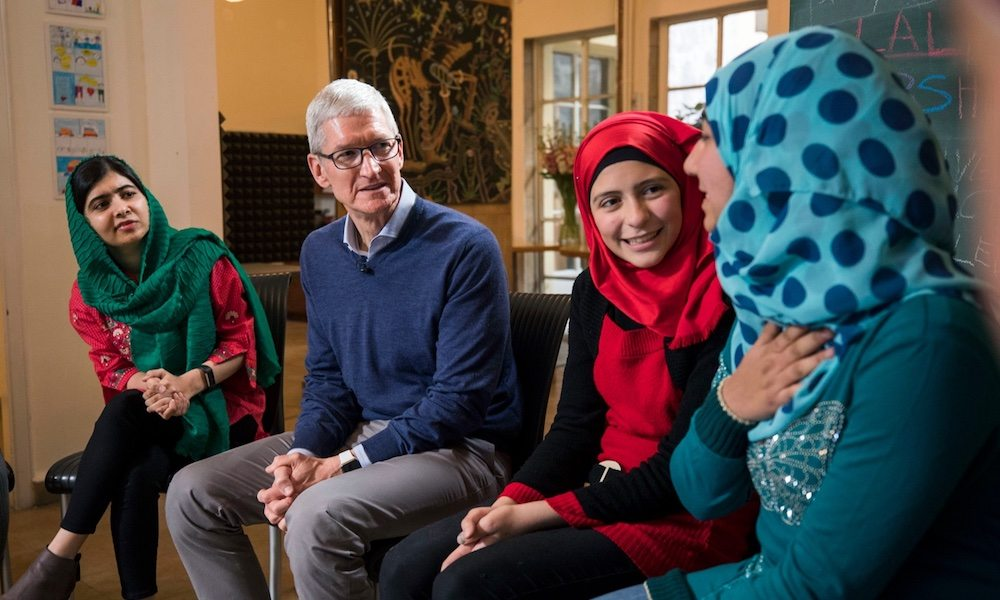 Apple Partners with Malala Fund to Support Girls' Education Globally