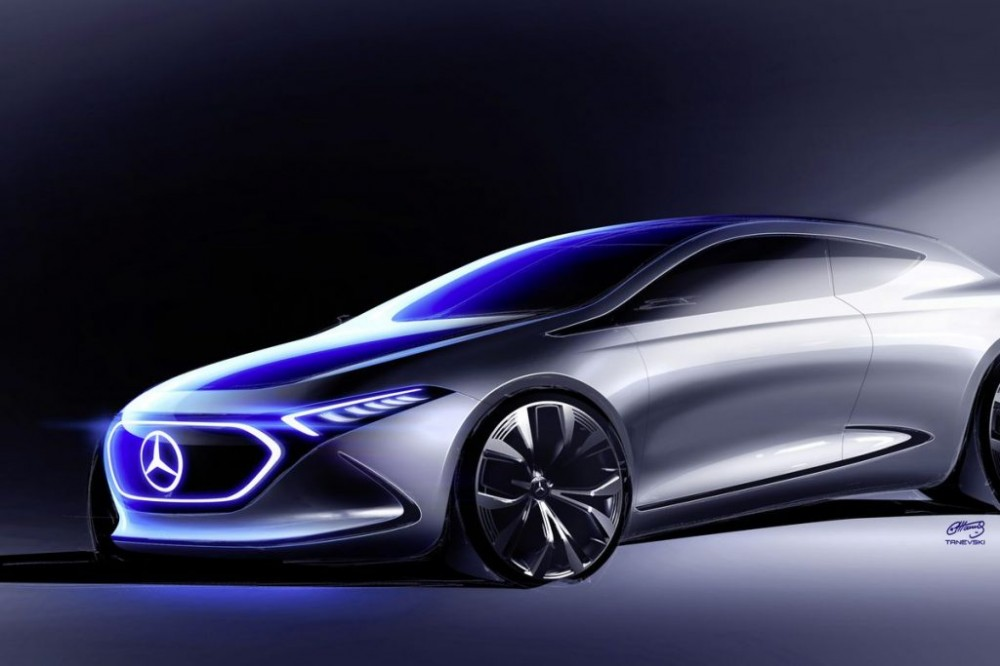 Mercedes-Benz Concept EQA is the company's next showcase of mobility plans