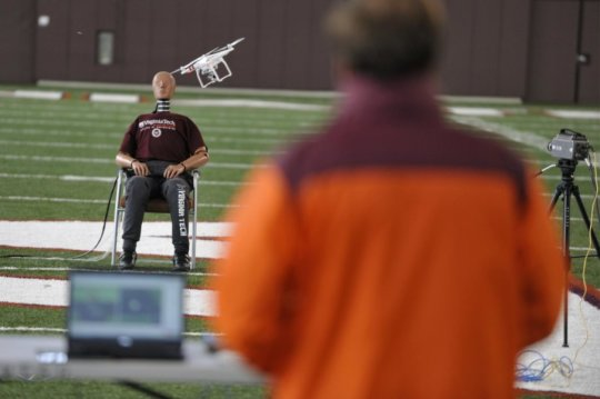 Risks vary widely in drone-human impacts