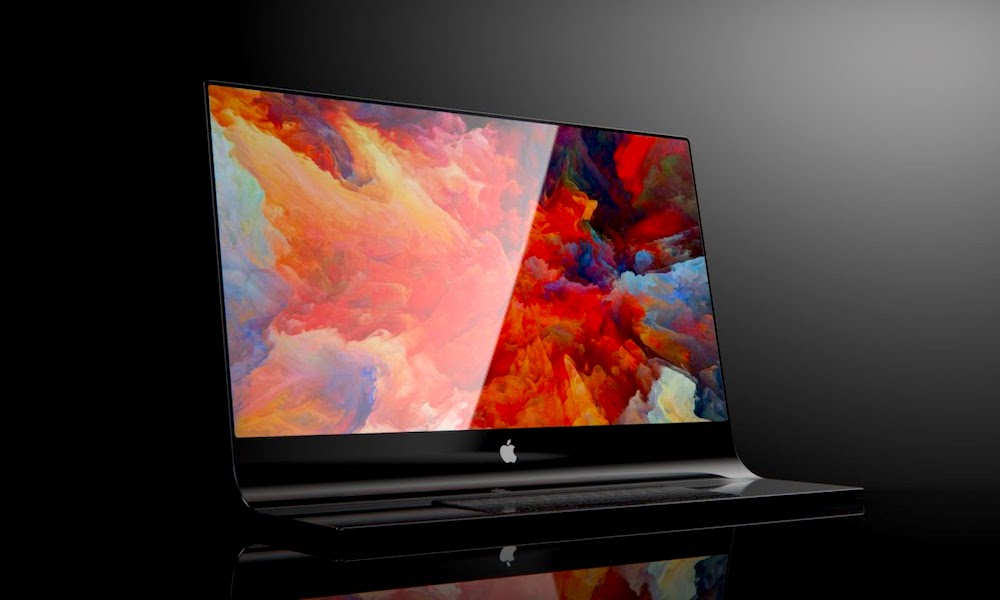 Gorgeous Concepts Show Apple's iMac Made from a Slab of Glass