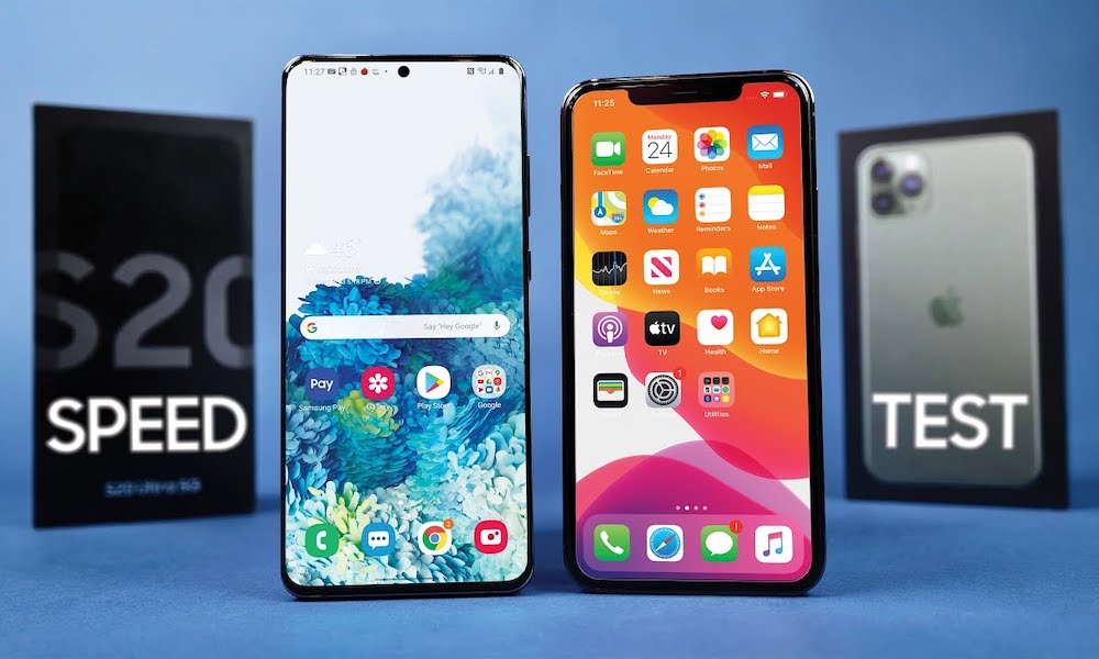 This Samsung Galaxy S20 Ultra vs. iPhone 11 Pro Max Speed Test Might Surprise You