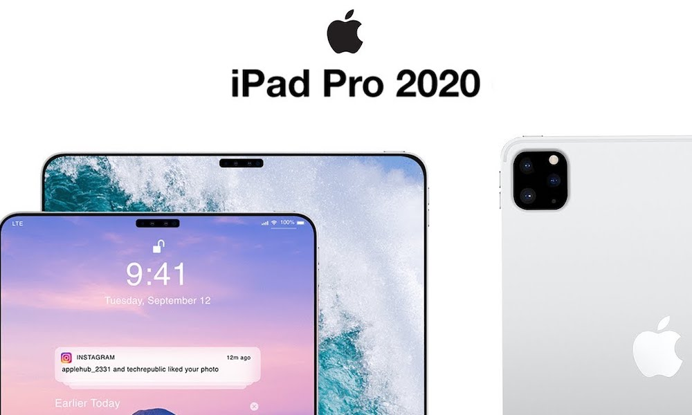 Apple's 5G iPad Pro with Triple-Lens Camera Rumored to Launch This Fall