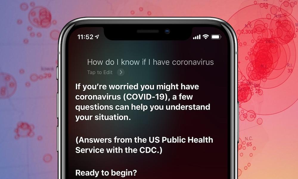 Siri Will Now Help You to Determine If You Have Coronavirus