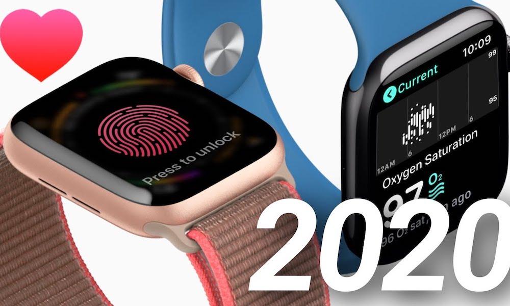 Apple Watch Series 6, WatchOS 7 to Add Blood Oxygen Sensor, Touch ID