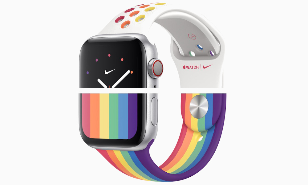 Apple Releases New Watch Faces, Sport Bands to Celebrate Pride Month