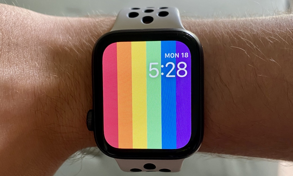 Apple's New Pride Watch Faces Are Going Missing in watchOS 6.2.5