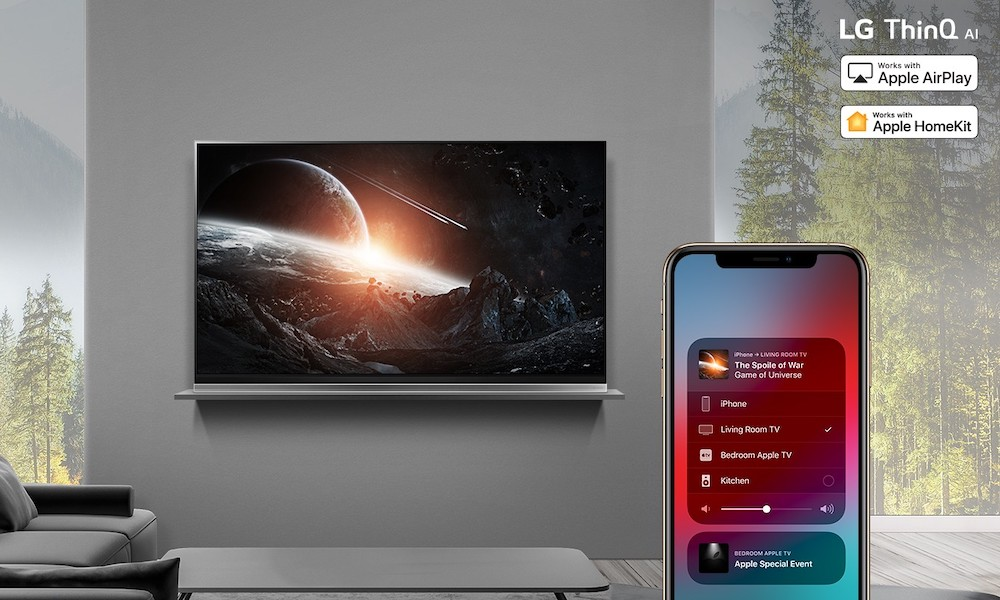 LG Now Selling 2020 NanoCell TVs with AirPlay 2, HomeKit and Apple TV