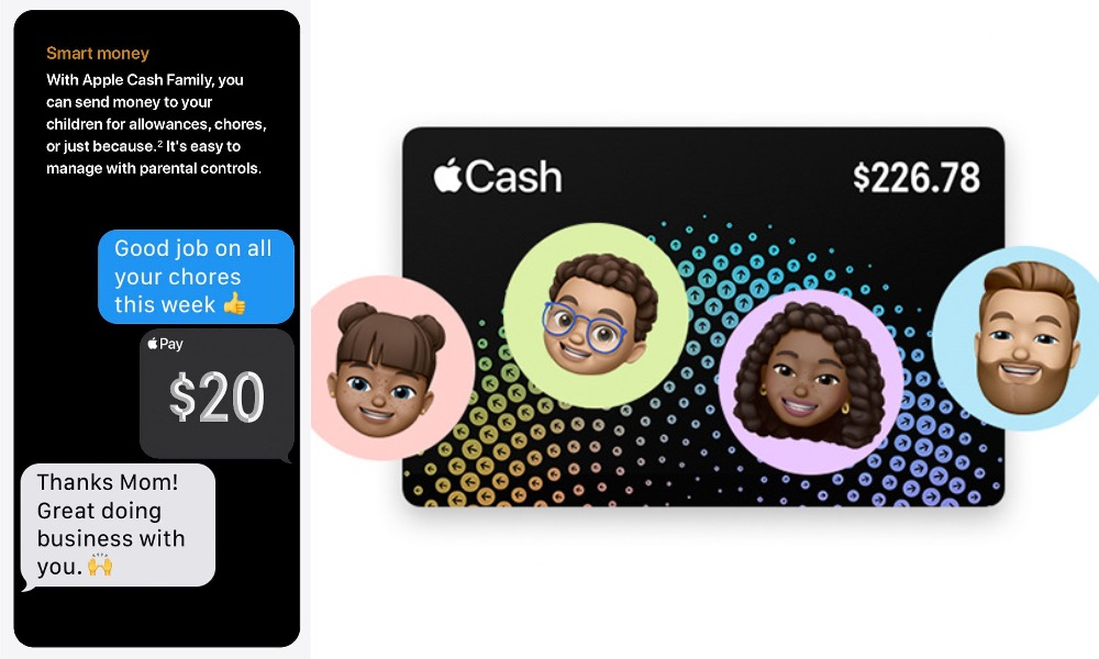 Send Spending Money to Your Kid's Apple Watch with 'Apple Cash Family'