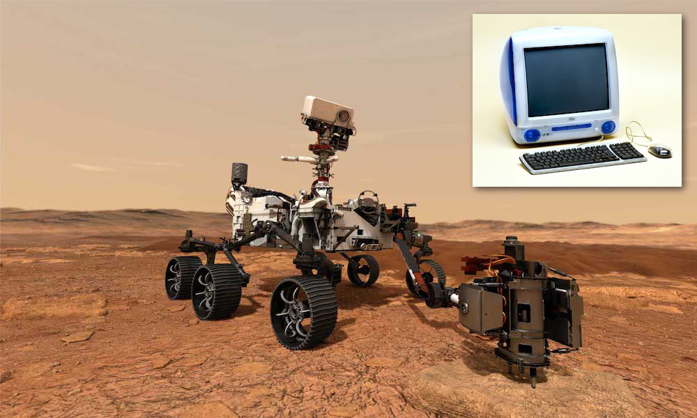 NASA's New Perseverance Rover Is Powered by 90s iMac G3 Hardware
