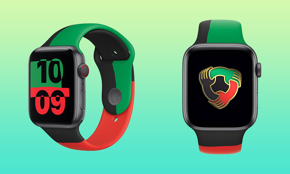 Apple Just Introduced This Cool Limited-Edition 'Black Unity' Apple Watch to Celebrate Black History Month